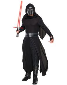 Fato de Kylo Ren Star Wars Episódio VII deluxe para homem