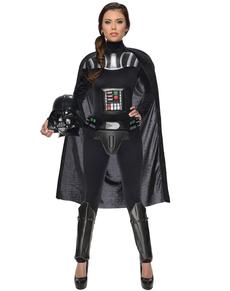 Fato de Darth Vader Guerra das Estrelas para mulher