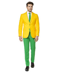Fato Green and Gold Opposuit