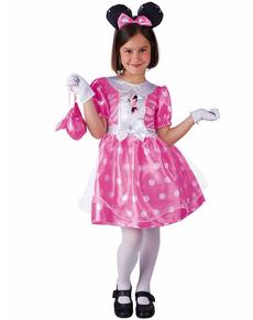 Fato de Minnie clássico cor-de-rosa